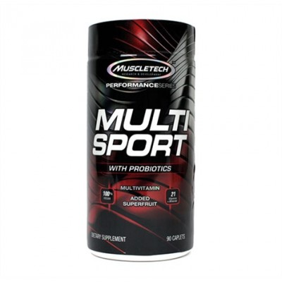 Muscletech - Multi Sport - 90 caps Protein Outelt