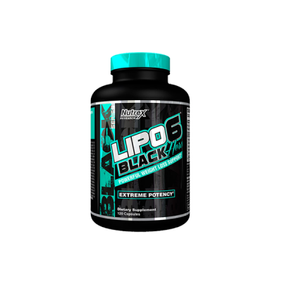 Nutrex - Lipo-6 Black Hers - 120 capsule Protein Outelt