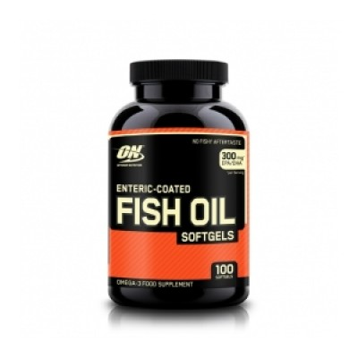 Optimum Nutrition - Fish Oil - 100 softgels Protein Outelt