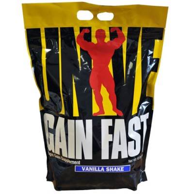 Universal - Gain Fast 3100 - 4.55 kg Protein Outelt