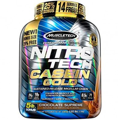 Muscletech - Nitro Tech Casein Gold - 2.3kg