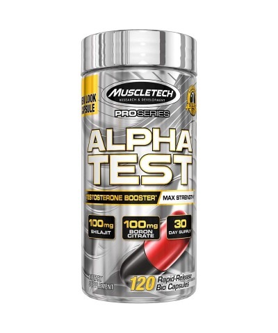 Muscletech - Alpha TEST - 120 caps