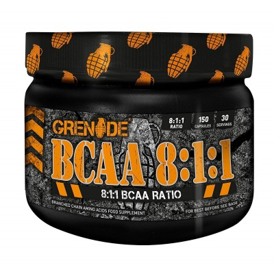 Grenade - BCAA 8:1:1 - 150 caps Protein Outelt