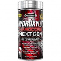 Muscletech - Hydroxycut Hardcore Next Gen - 100 caps