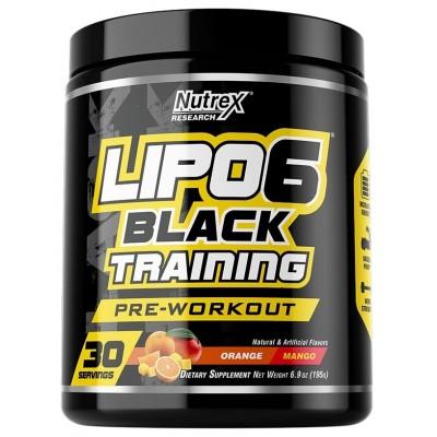 Nutrex - LIPO-6 Black Training - 30 serv.