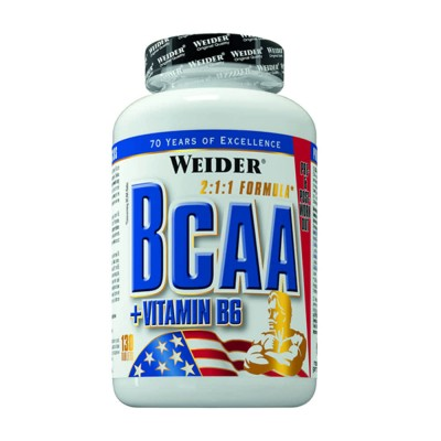 Weider - BCAA + Vitamina B6 - 130 tablete