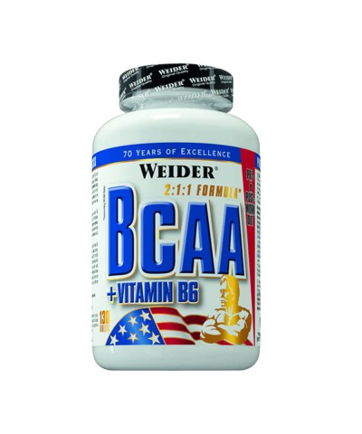 Weider - BCAA + Vitamina B6 - 130 tablete