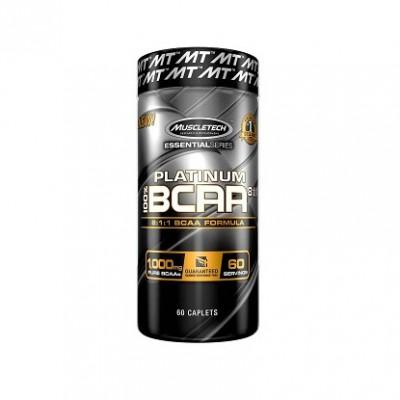 Muscletech - Platinum BCAA  8:1:1 - 60 caps