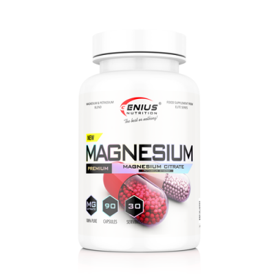Genius - Magneziu + Potasiu - 90 caps