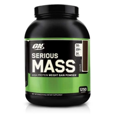 Optimum Nutrition - Serious Mass - 2.7kg Protein Outelt
