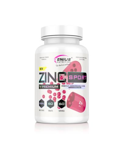 Genius - Zinc Sport - 60 tabs