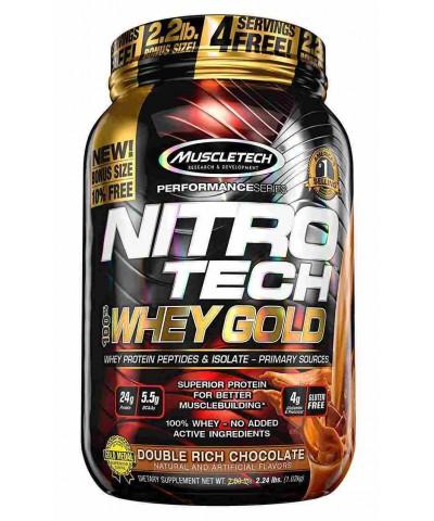 Muscletech - Nitro-Tech 100% Whey Gold - 1 kg