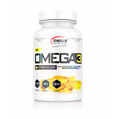 Genius - Omega 3 - 90 softgels Protein Outelt