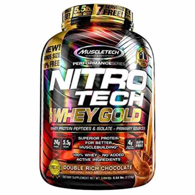 Muscletech - Nitro Tech 100% Whey Gold - 2.51 Kg
