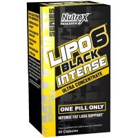 Nutrex - Lipo 6 Black Intense - 60 Capsules