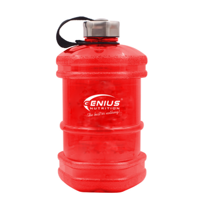 Genius - Red Water Bottle - 2.3L Protein Outelt