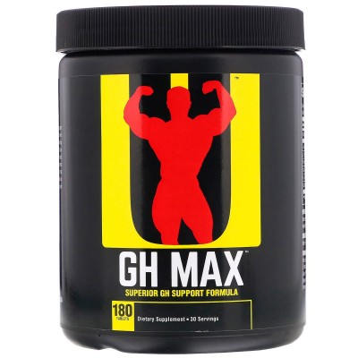 Universal - GH MAX - 180 tab Protein Outelt