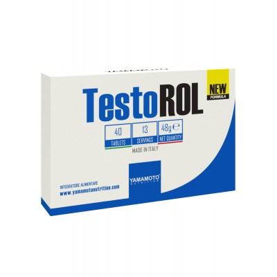 Yamamoto - TestoROL - 40 tab. Protein Outelt