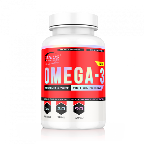 Genius - Omega 3 - 90 softgels, din categoria Extrase Naturale, Protein Outlet
