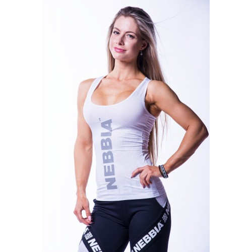 Nebbia - Tank top carbon Alb, din categoria Echipamente, Protein Outlet