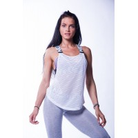Nebbia -  Wrap Up Tank Alb