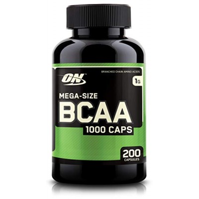 Optimum Nutrition - BCAA 1000 - 200 caps Protein Outelt
