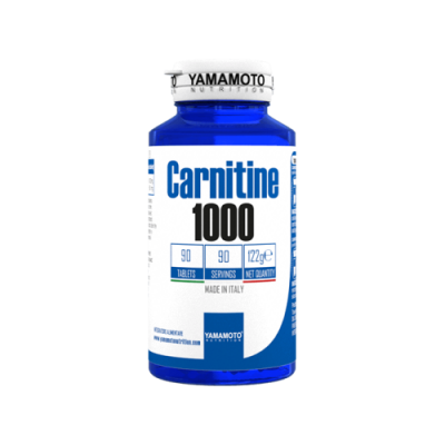 Yamamoto -  Carnitine 1000 - 90 tabs Protein Outelt