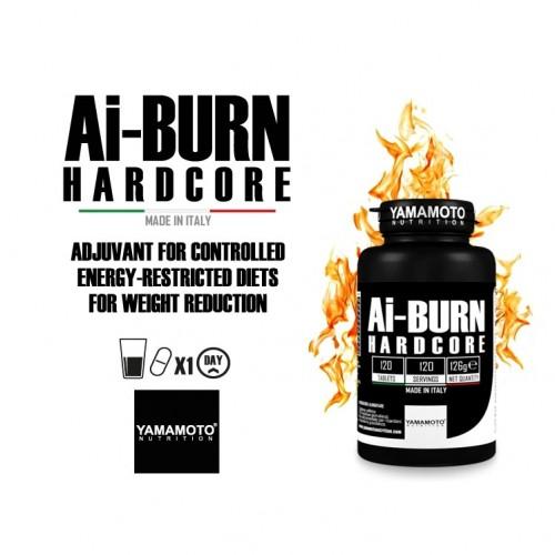 Yamamoto - Ai Burn HARDCORE - 240 caps, din categoria Slabire si arderea grasimilor, Protein Outlet