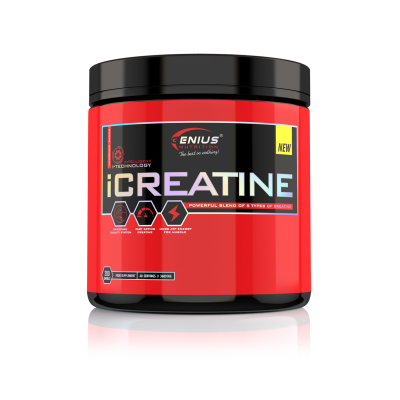 Genius - iCreatine - 200 caps Protein Outelt
