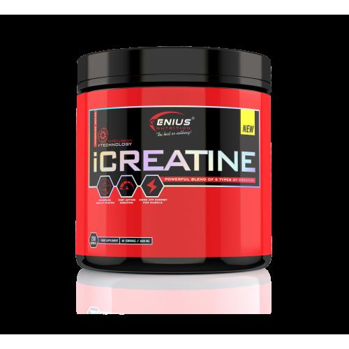 Genius - iCreatine - 200 caps , din categoria Creatina, Protein Outlet