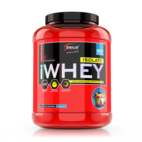 Genius - iWhey Isolate - 2kg, din categoria Proteine, Protein Outlet