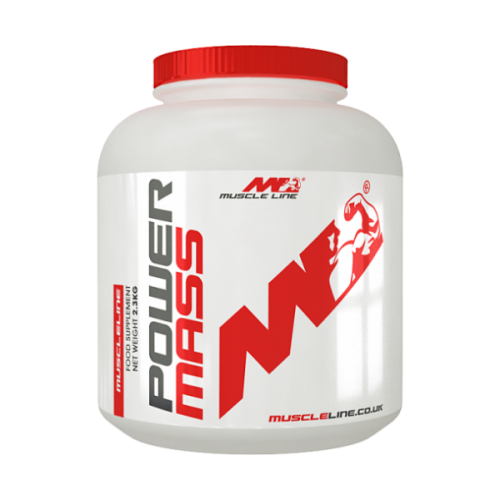 Muscle Line - Power Mass - 2.3kg, din categoria Proteine masa musculara, Protein Outlet