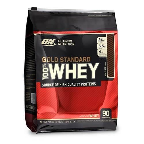 Optimum Nutrition - Gold Whey - 2.74 kg, din categoria Proteine, Protein Outlet