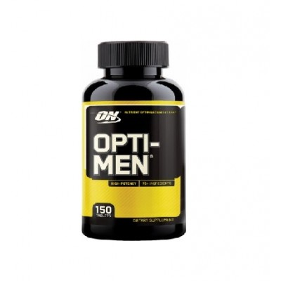 Optimum Nutrition - Opti-men High Potency USA - 150 caps Protein Outelt
