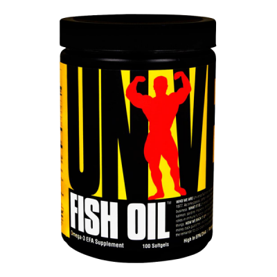 Universal - Fish Oil - 100 softgels Protein Outelt
