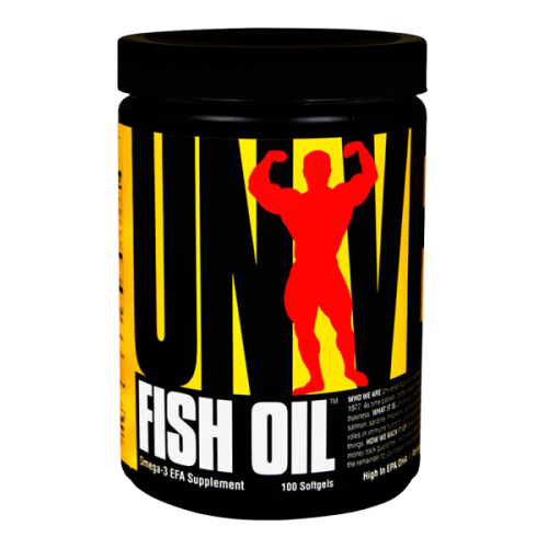 Universal - Fish Oil - 100 softgels, din categoria Vitamine si minerale, Protein Outlet