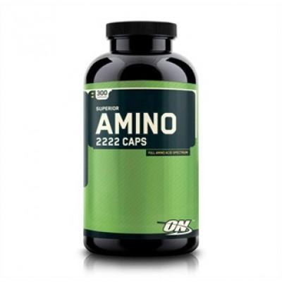 Optimum Nutrition - Amino 2222 - 160 capsule Protein Outelt