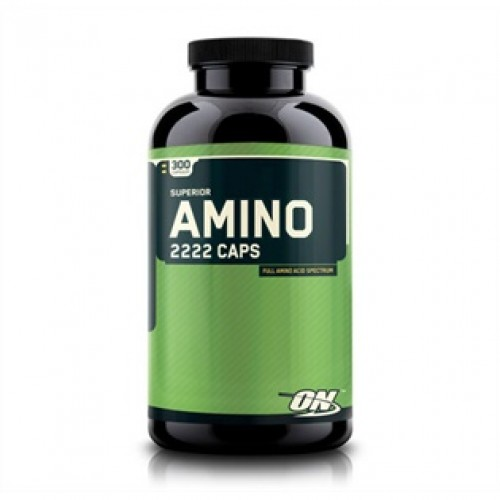 Optimum Nutrition - Amino 2222 - 160 capsule, din categoria Aminoacizi, Protein Outlet