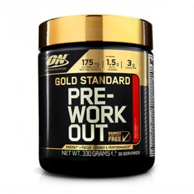 Optimum Nutrition - Gold Standard Pre Workout 330g Protein Outelt