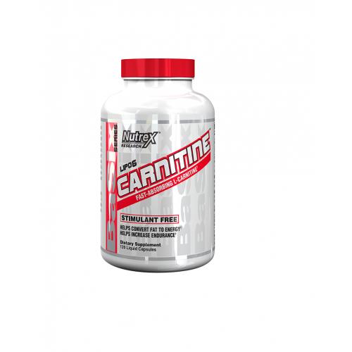 Nutrex - Carnitine - 60 caps., din categoria Slabire si arderea grasimilor, Protein Outlet