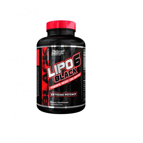 Nutrex - LIPO-6 Black - 120 caps, din categoria Slabire si arderea grasimilor, Protein Outlet