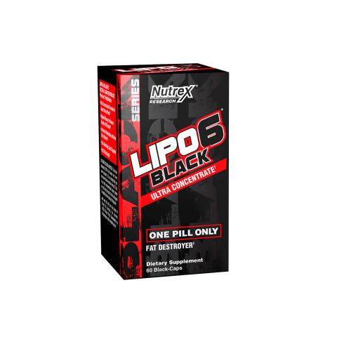 Nutrex - LIPO-6 Black Ultra Concetrate, din categoria Slabire si arderea grasimilor, Protein Outlet
