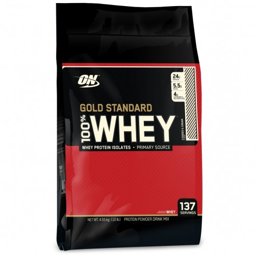 Optimum Nutrition - Gold Whey - 4.5kg, din categoria Proteine, Protein Outlet