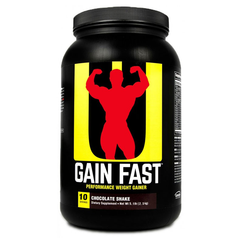 Universal - Gain Fast 3100 - 2.3kg Protein Outelt