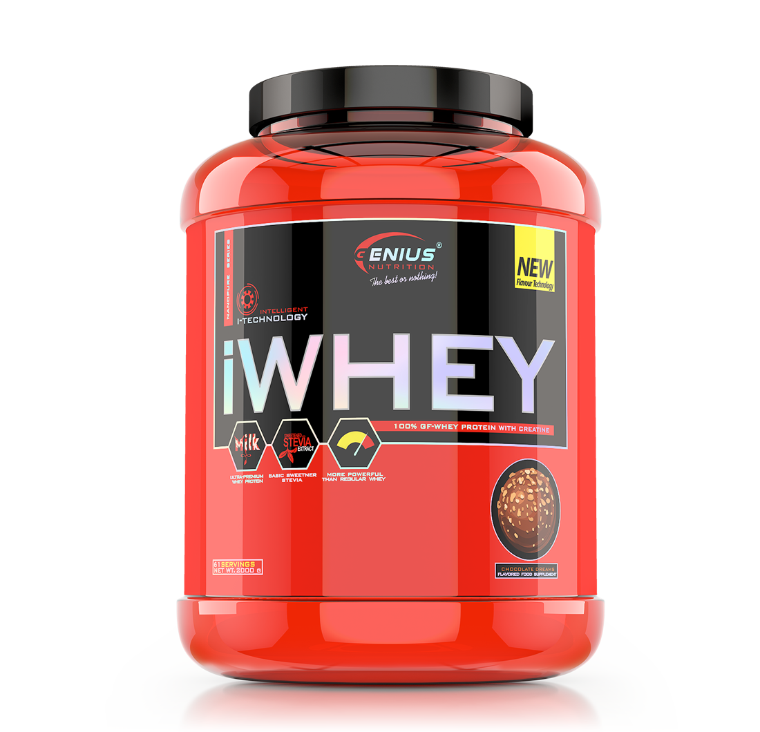 Genius - iWhey 2.0 - 2 kg Protein Outelt